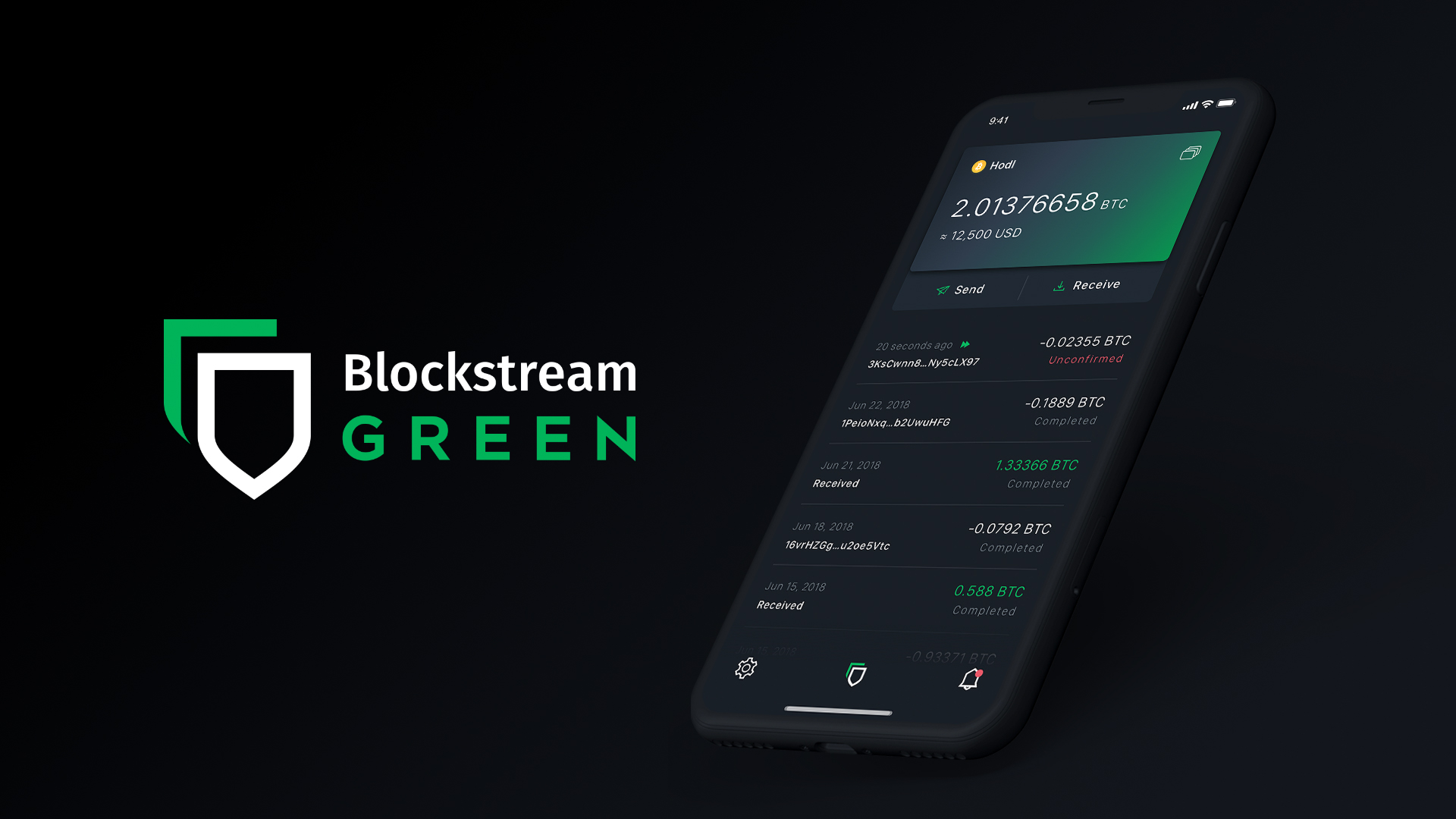 Blockstream - The All-New Blockstream Green Wallet