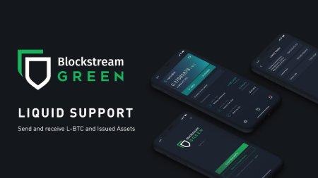 Liquid Arrives on Blockstream Green