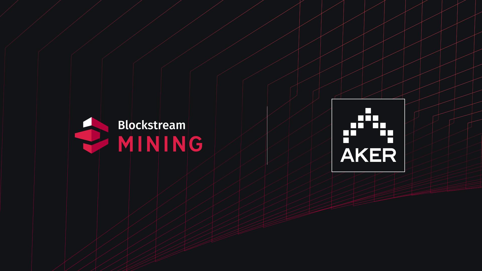 New Partnership between Blockstream and Aker