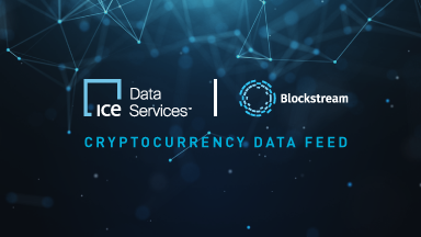 Live cryptocurrency data feed